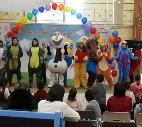 Общественная организация «Дети Якутии» организовали праздник ко дню международного дня ребенка